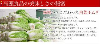 お試しパック!キムチ野菜4種類セット計800g(白菜キムチ200gダイコンキムチ200g胡瓜キムチ200g小松菜キムチ200g)