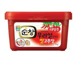 スンチャンコチュジャン1kg 美食の国韓国の、味の土台を築いた唐辛子味噌、コチュジャン。食欲をそそる刺激で世界中に愛される、代表的な調味料です【冷蔵】