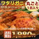 【送料無料】ワタリガニ(ケジャン)を丸ごと一匹使用した韓国キムチチゲ鍋。キャベツキムチ入り。ケジャン鍋約2〜3人前…