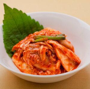白菜キムチの刻み「360g」★楽天ランキング1位獲得!青森産のニンニク、風味が特長の高知産の生姜、本場韓国でも高評価の瀬戸内海のアミエビを使用した薬念(ヤンニョン)を、漬け込ん