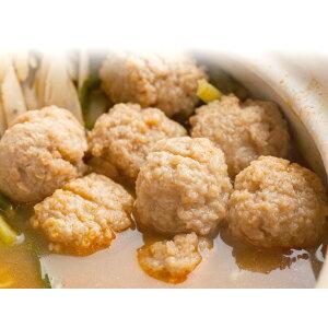 鍋用肉だんご★キムチ鍋に入れるとスープを吸って美味しくお召し上がりいただけます【冷凍】