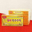 保存食 韓国伝統 コーン茶ティーバッグ 5箱セット(75包)