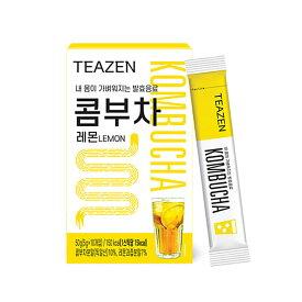 韓国 コンブチャ KOMBUCHA レモン味 5g×10包 TEAZEN