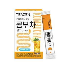韓国 コンブチャ KOMBUCHA 柚子味 5g×10包 TEAZEN