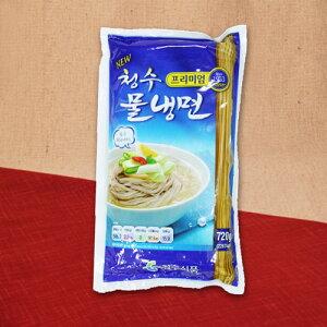 保存食 韓国 清水冷麺スープ付 (4人分) 720g