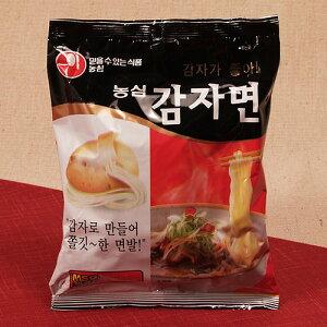 保存食 じゃがいもラーメン 10袋(カムジャ麺) 韓国直輸入