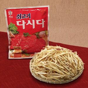 保存食 韓国 鱈スープ・プゴク用セット 牛肉ダシダ100g+干しタラ 200g