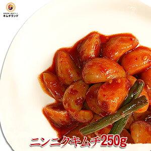 【ニンニクキムチ 250g】 韓国直輸入 保存食 韓国食品 韓国食材 韓国 食品 食料品 食べ物 たべもの キムチ 韓国キムチ きむち ご飯のお供 ご飯のおとも ごはんのお供 ごはんのおとも おかず