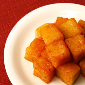 保存食 発酵食品 大根キムチ 500g 韓国産 ハンウル