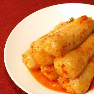 保存食 発酵食品 チョンガ大根キムチ 500g 韓国産 ハンウル