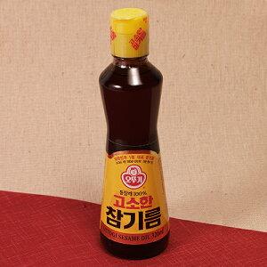 【オットギ 純正 ごま油 320ml】韓国 韓国調味料 韓国食品 韓国料理 ゴマ油   調味料 胡麻油 お取り寄せ 韓国食材 食料品 食品 食べ物 油 あぶら 取り寄せ おとりよせ ギフト プレゼント 誕生日