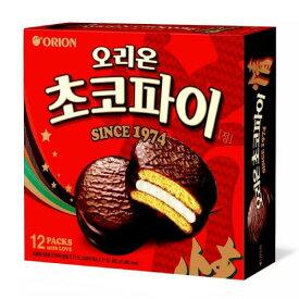 保存食 韓国 チョコパイ 情(ジョン) 12個入り