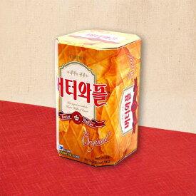 保存食 韓国菓子 バターワッフル(中) 3枚×5袋