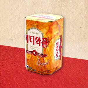 【韓国菓子 バターワッフル(中) 3枚×5袋】韓国食品 韓国グルメ お菓子 おやつ お土産 | 韓国お菓子 おかし スナック スナック菓子 お取り寄せ ご当地 食料品 お取り寄せグルメ 韓国菓子 韓