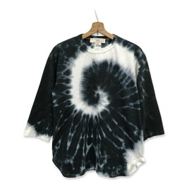 タイダイ 染め 3/4スリーブ Tシャツ : LTS-070