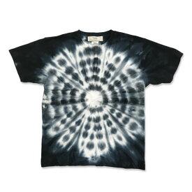 サークル タイダイ染め Tシャツ : TS-634