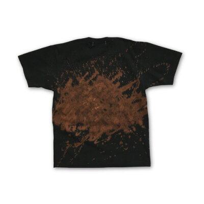 抜染タイポロゴプリントTシャツ:TS-532