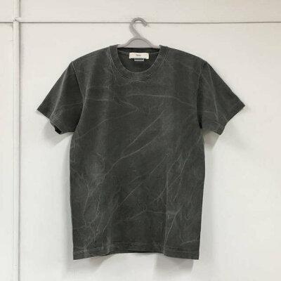 シワピグメントプリントTシャツ:TS-556