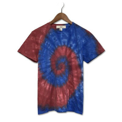 染め染色タイダイ染めスパイラルTシャツ:TS-617
