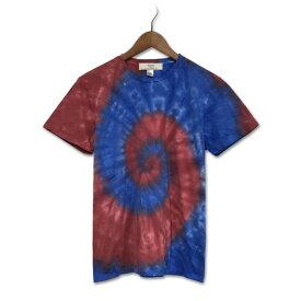 染め 染色 タイダイ染め スパイラル Tシャツ : TS-617