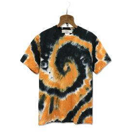 タイダイ染め スパイラル Tシャツ:TS-625