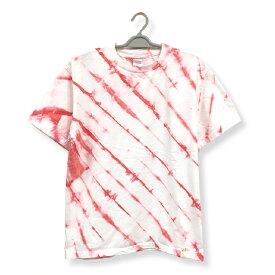 絞りむら染め オリジナル染色 半袖Tシャツ タイダイ染め:TS-388