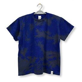 むら脱色 Tシャツ 染色 Tシャツ タイダイ染め むら染め TS-390