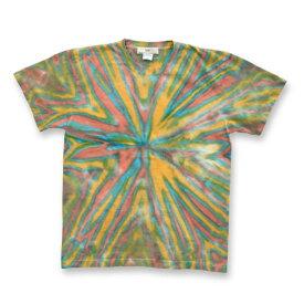タイダイ染め Tシャツ : TS-545
