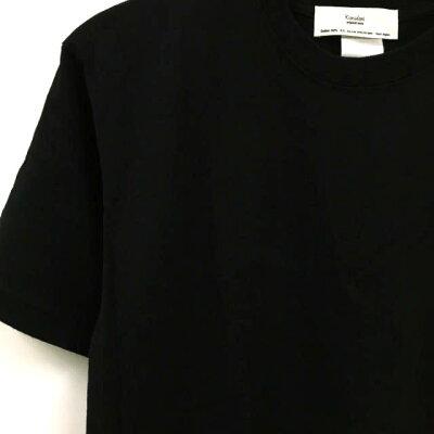 染色屋kimidoriの後染めTシャツ(ブラック):TS-562
