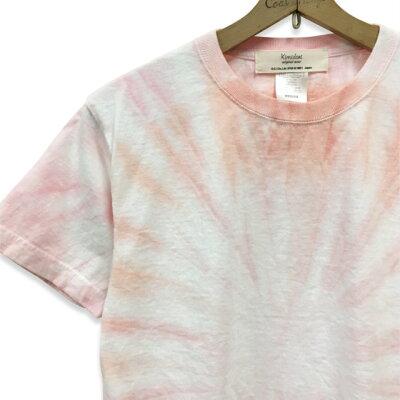 絞り染めタイダイ染めTシャツ:TS-599