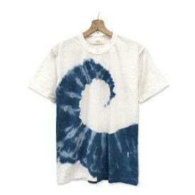 タイダイ染め スパイラル柄 Tシャツ:TS-601