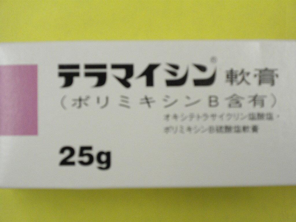 テラマイシン軟膏25g 【第2類医薬品】