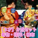 【3才】3点セット丸洗いクリーニング 着物・襦袢・被布/5724円