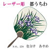 I murder a laser carving total carving watermarks round fan classification morning glory and engrave souvenir Kyoto hand dyeing on the ukiyoe print Kinkaku-ji Temple dark blue green purplish red tea capital round fan one side openwork high quality round