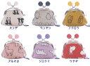 ★日本製★動物シリーズ《五色帆布堂◆1.7寸ミニがま口》 -和装 着物 財布 がま口 和柄 和雑貨 動物 アニマル-