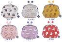 ★日本製★動物シリーズ《五色帆布堂◆3.5寸がま口》 -和装 着物 財布 がま口 和柄 和雑貨 動物 アニマル-