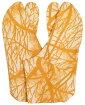 柄足袋生成り底4枚こはぜ山吹色松の木25,5cm・26,0cm・26,5cm【男女兼用】【メンズ】【カジュアル】【日本製】