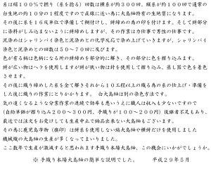 大島紬ー文