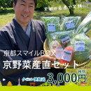 京都スマイルBOX京野菜産直セット3,000円コース農家さんから旬のお野菜をお届けします!