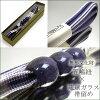 GoTo string-pure silk 3-tie tightening × Ryukyu glass band clamp-古代紫 intangible cultural heritage kimono [fs01gm]