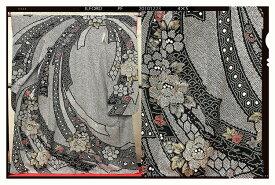 【クーポン】【レンタル】振袖 レンタル 成人式 着物 セット 総絞り黒のしめ05