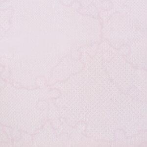 【夏用】【1尺4寸】替え袖東レシルック・楊柳(ようりゅう)地雪輪文/薄ピンク×白うそつき長襦袢用うそつき袖単衣仕立「衿秀」き楽っく袖マジック付日本製