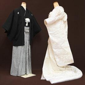 【レンタル】【試着・白無垢】白無垢|レンタル|結婚式|レンタル着物|フルセット|和装|貸衣装|紋付袴|花嫁衣装|和服|和婚|新郎|新婦|衣装レンタル|ブライダル|神前式|神社|安い|往復送料無料