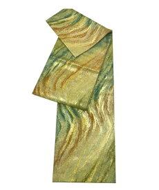 正絹袋帯 あす楽 女性 レディース お仕立て上がり 未使用品 礼装 金 全通柄 袋帯 お買い得 お値打ち kn-027