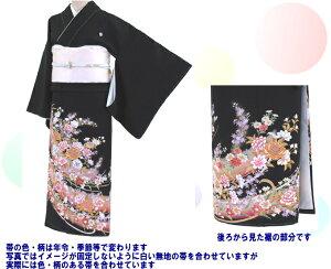 黒留袖レンタル-235・フリーサイズ〔レンタル留袖〕〔貸衣装〕〔結婚式〕【】