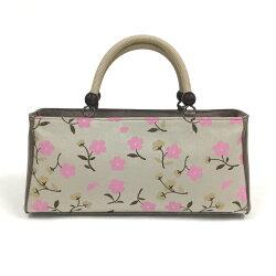 和装バッグカジュアル帯地バッグ着物用バッグ西陣帯地シルクおしゃれフラワーかわいい花柄日本製和装着物きものkimono送料無料