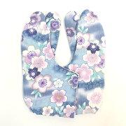 柄足袋 おしゃれ 足袋 レディース カジュアル 4枚コハゼ こはぜ付き 和柄 和装 和装小物 たび 着物 きもの kimono 23.5cm