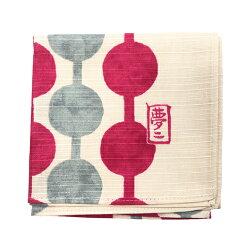 風呂敷中巾48cm×48cmおしゃれふろしき竹久夢二チーフ日本製お弁当包みテッシュカバー大正ロマン雑貨和雑貨プレゼントギフトむす美和装着物レトロモダンfuroshikiふろしきの包み方リーフレット付つなぎだんごアカ