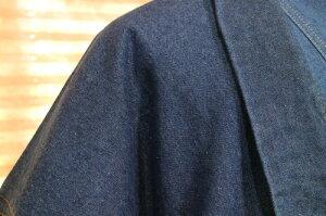 【デニム羽織】洗えるデニム着物