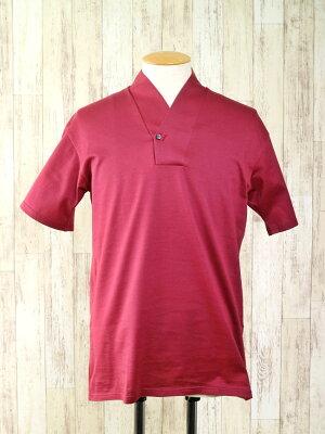 【メンズ襦袢衿TシャツMI-1_4】着物・浴衣用衿付きシャツ着物インナー浴衣インナーMLXL